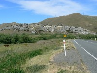 Weka Pass on the way back to Christchurch