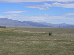Barren landscape of the Mackenzie Country