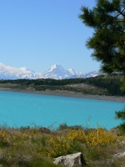 Mt Cook beyond Lake Pukaki