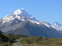 Mt Cook gets closer