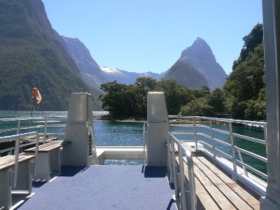 Late afternoon at Milford Sound