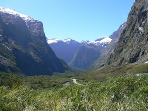 Milford Road pass