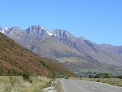 Just another scene, heading home near Glenorchy